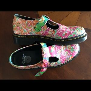Funky Dr. Martens Mary Janes